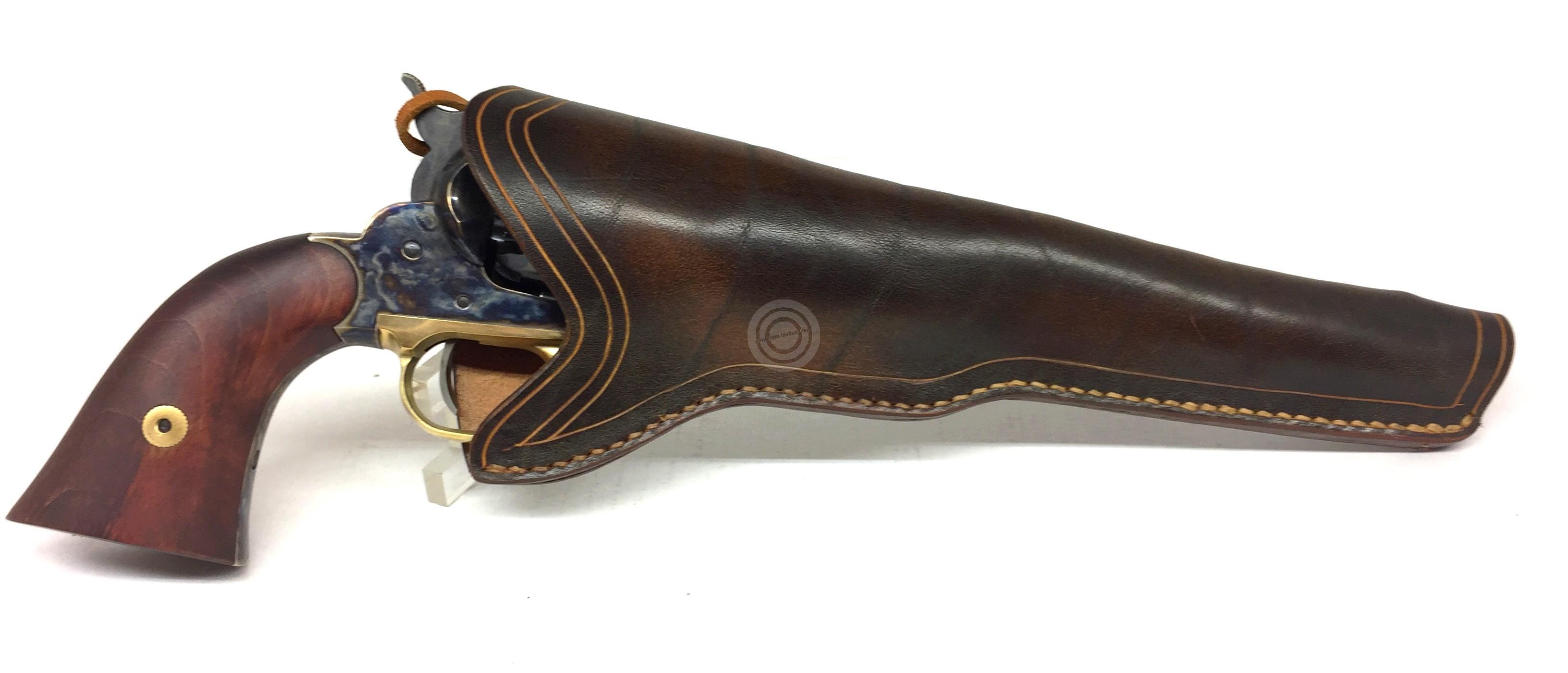 16ce4a86765 Holster en cuir Western pour revolver 8