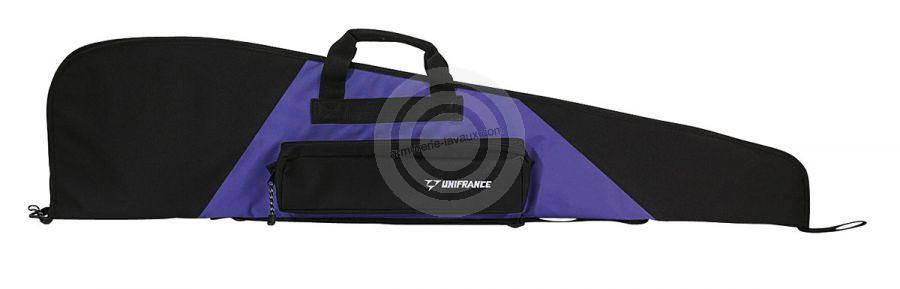 Housse pour arme avec lunette UNIFRANCE mauve 116 cm