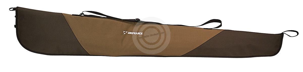 Housse verte marron pour fusil 147 cm rayon chasse sur for Housse fusil browning