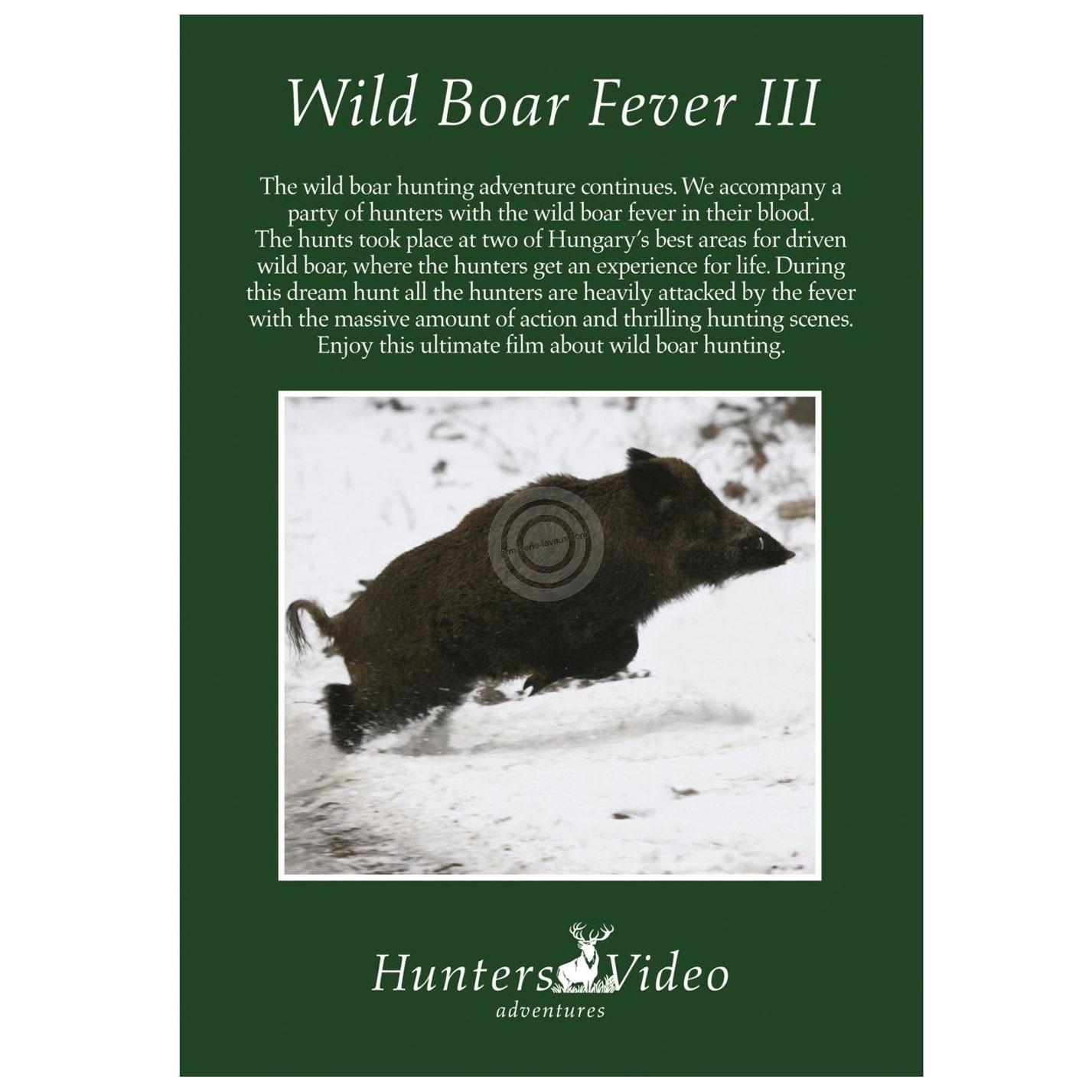 DVD Hunters Video ''Sangliers hongrois en battue 3''