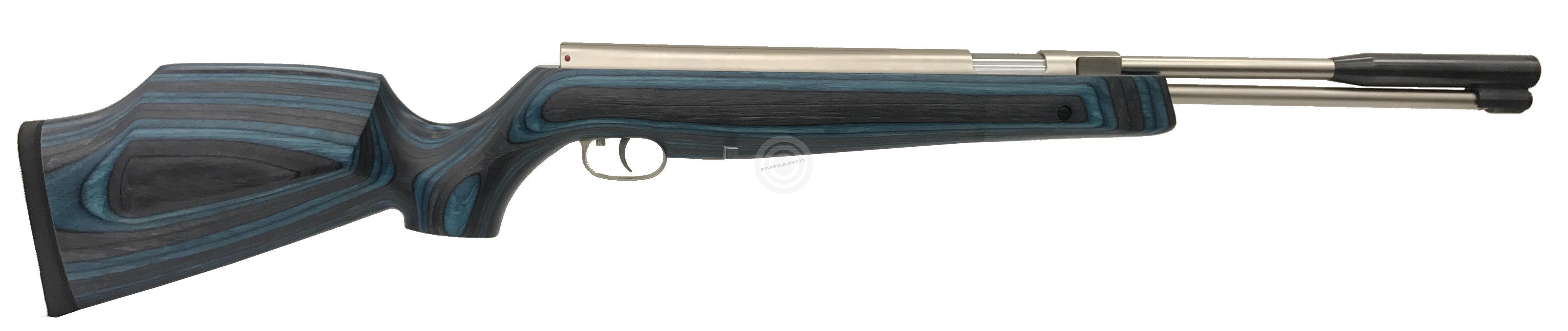 Carabine à air comprimé WEIHRAUCH HW 97K Stainless Lamellé