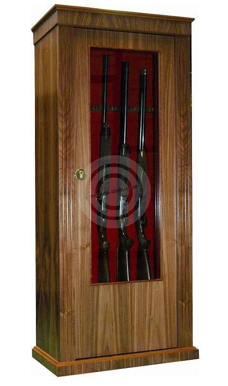 Armoire designe armoire a fusil en bois plan dernier for Porte bijoux mural pas cher