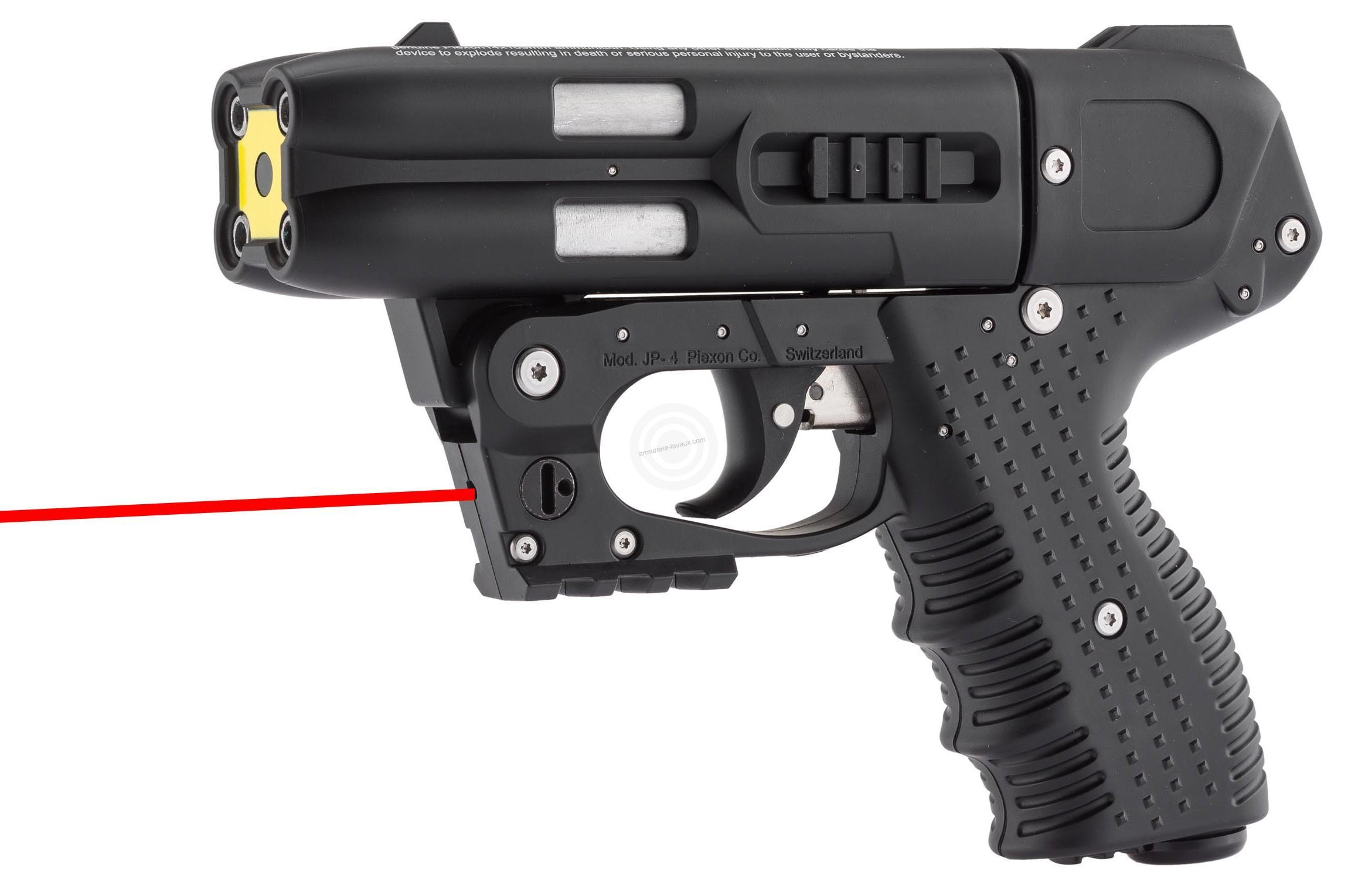 Pistolet jet JPX 4 (Noir) Law Enforcement