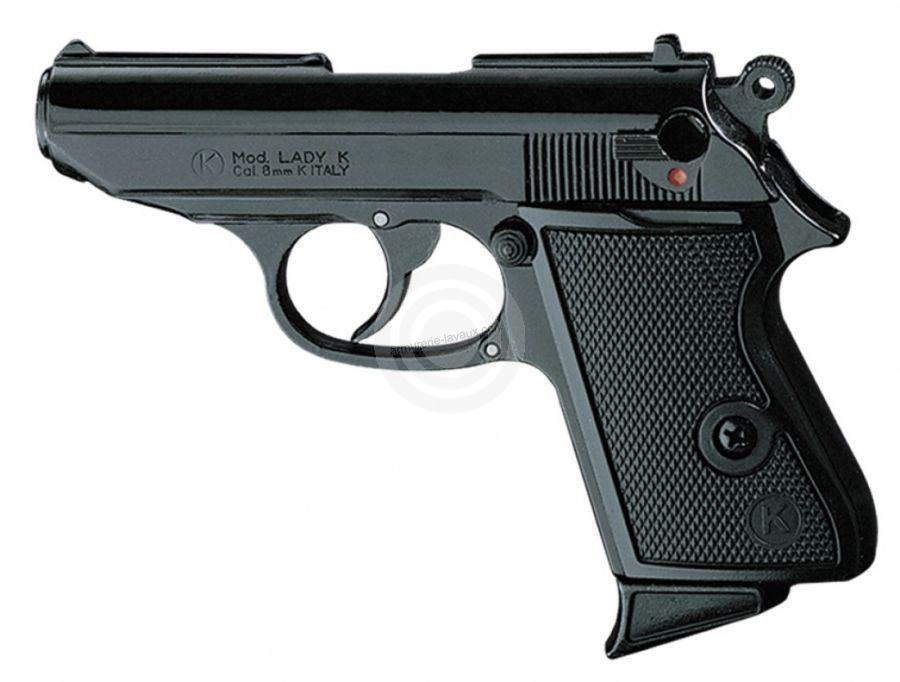Pistolet KIMAR Lady Bronzé cal.9mm