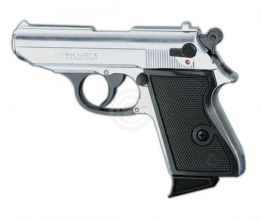 Pistolet KIMAR Lady Nickelé cal.9mm