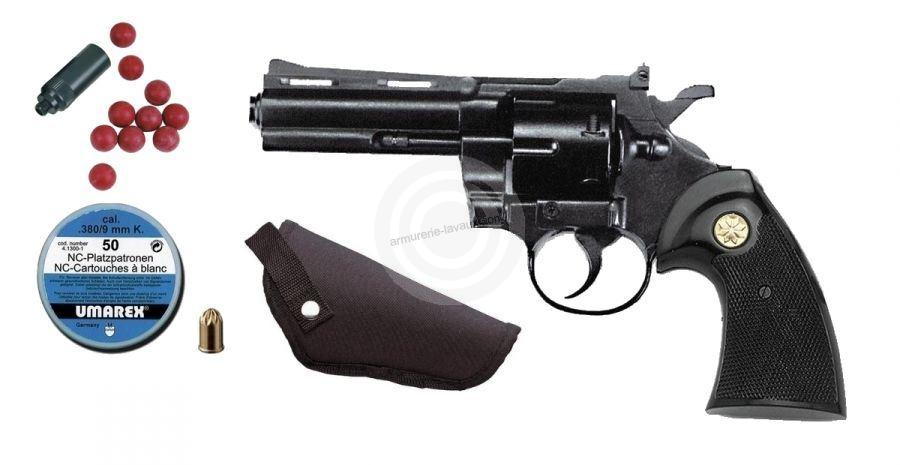 Kit d�fense Revolver KIMAR Python Bronz� cal.9mm R