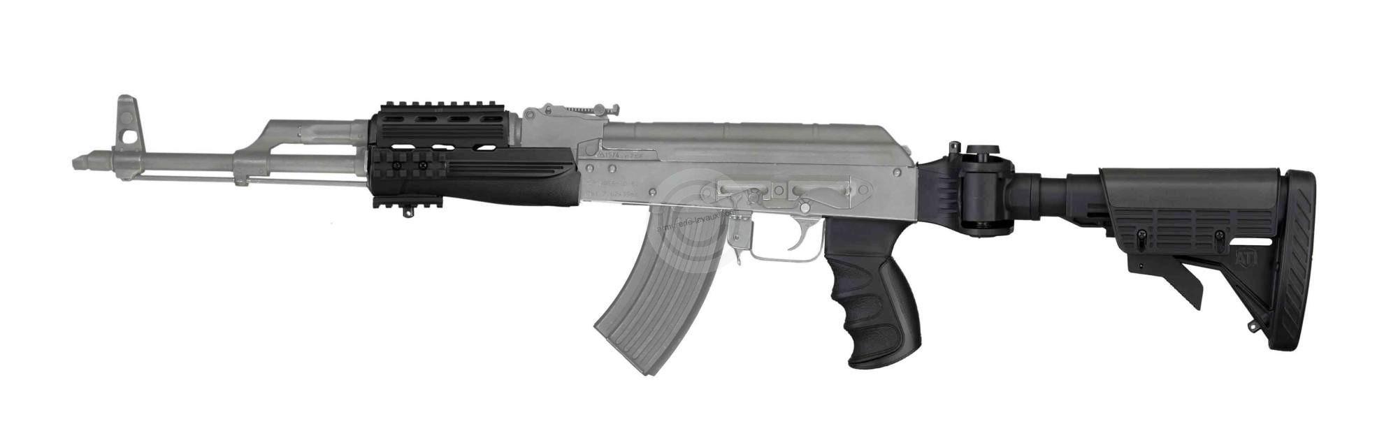 Kit crosse - poignée - garde main en polymère ATI pour AK47