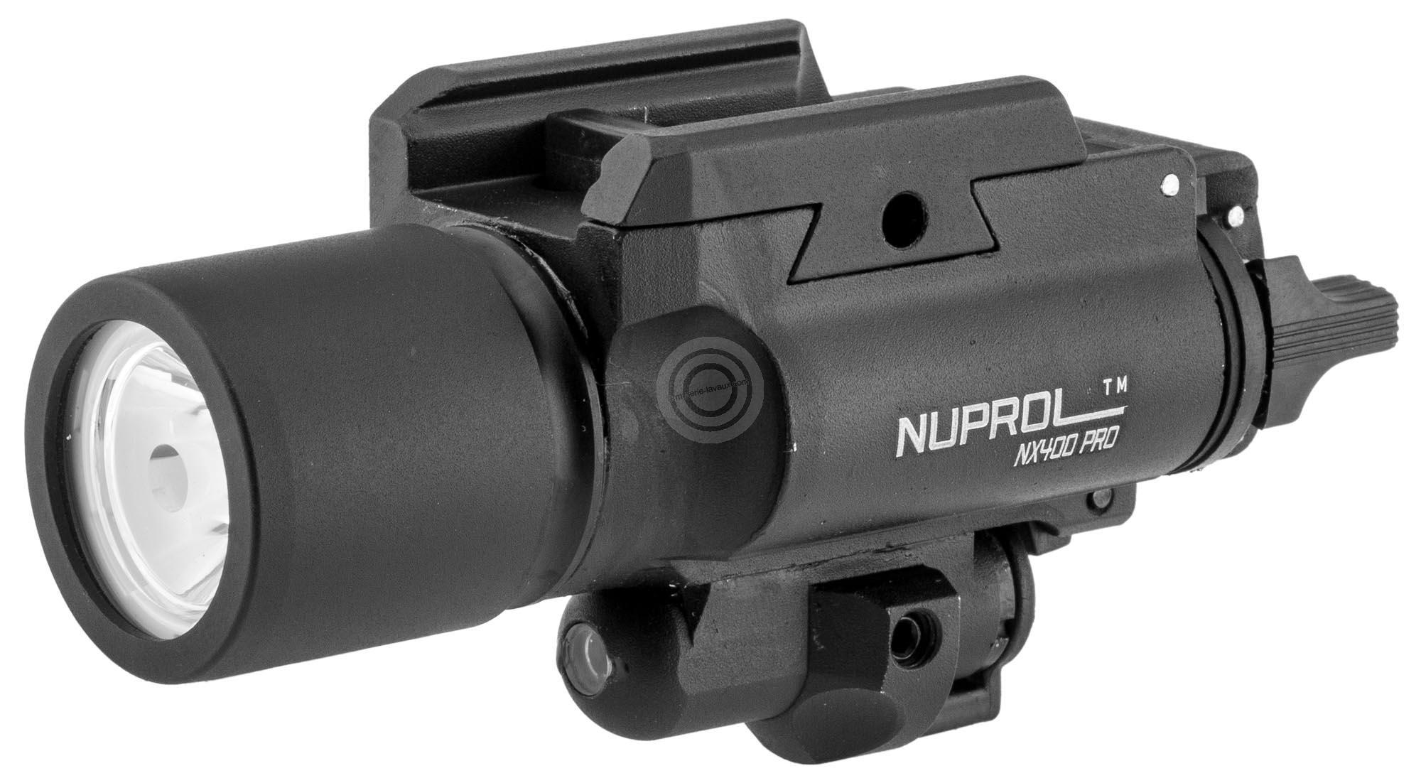Lampe laser tactique NUPROL NX400 Pro