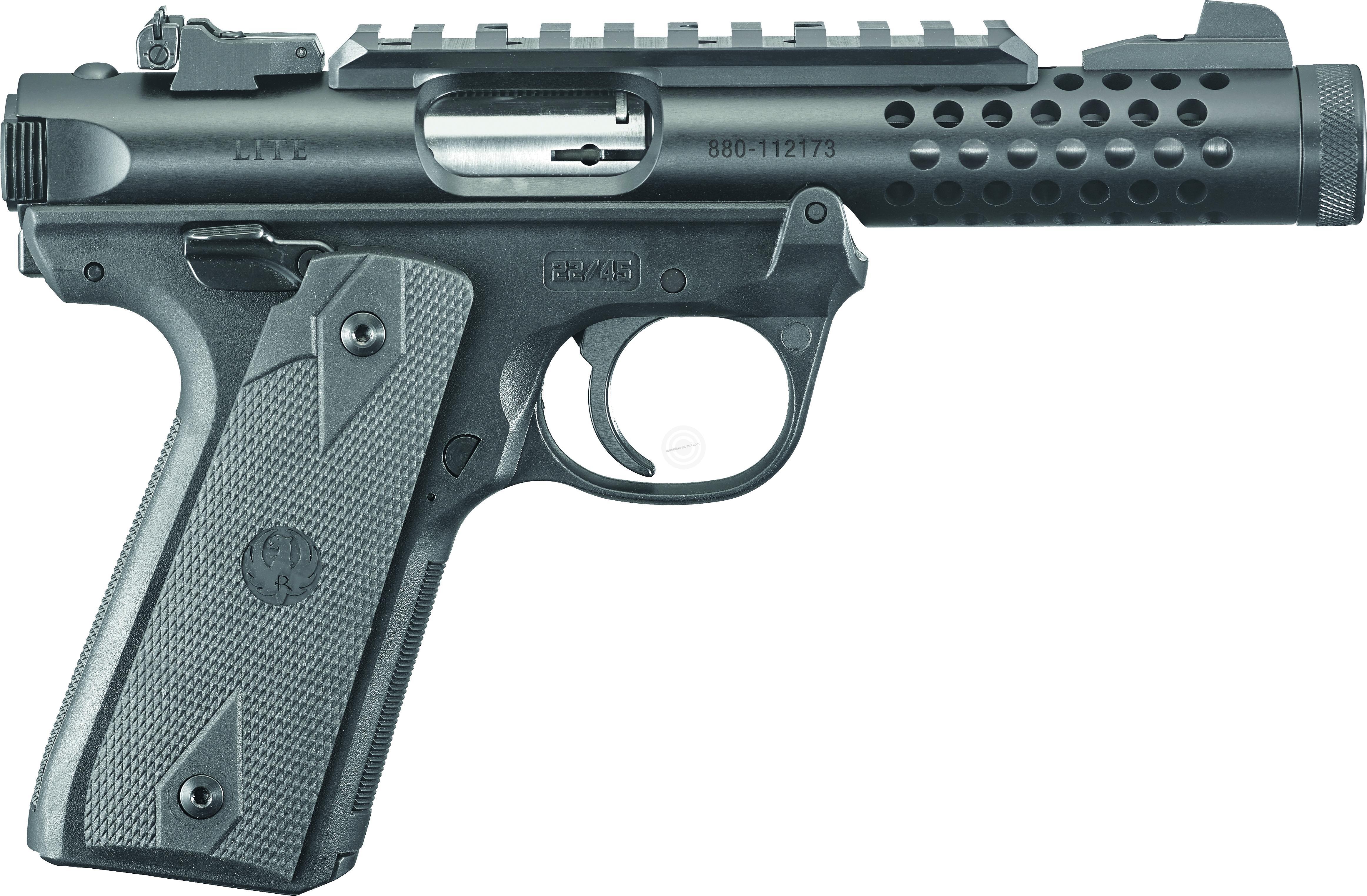 Pistolet RUGER 22/45 Lite Black calibre 22 Lr