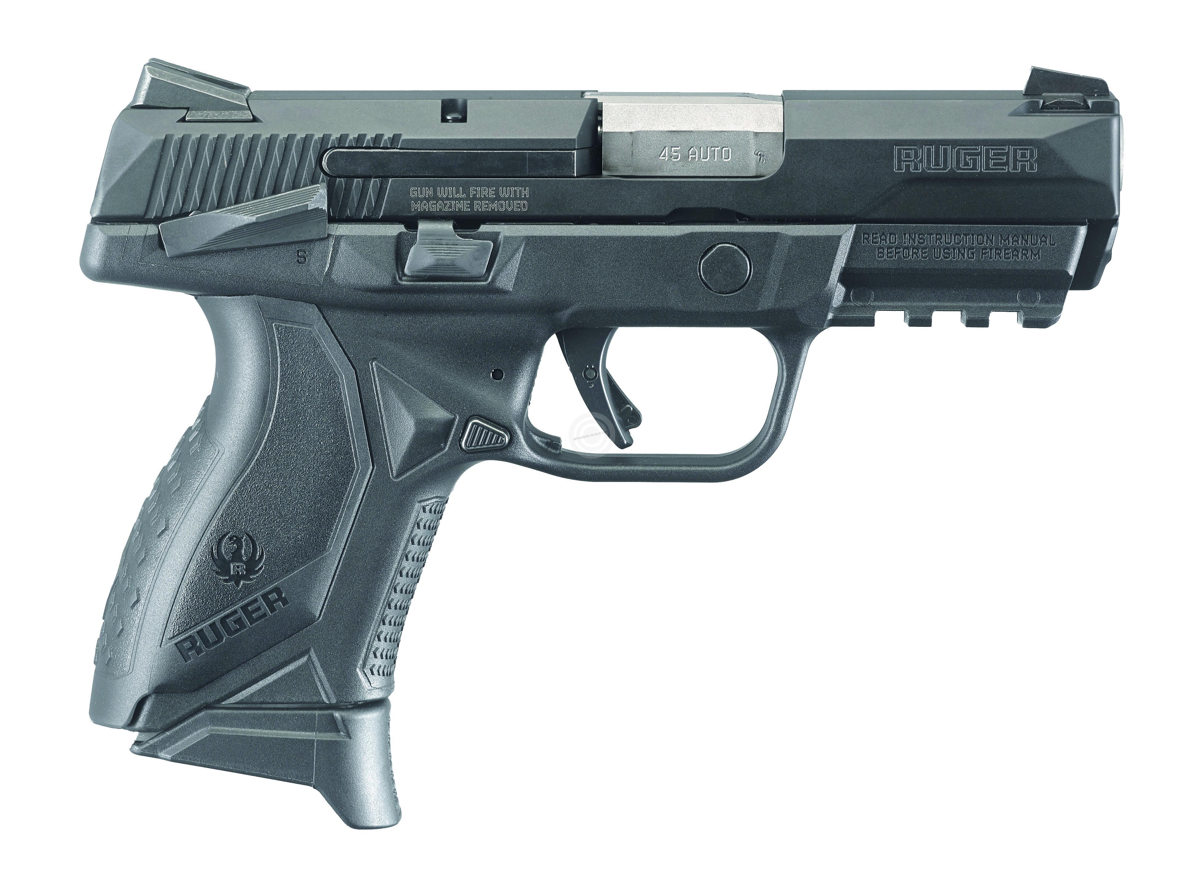 Pistolet RUGER AMERICAN PISTOL COMPACT calibre 9x19