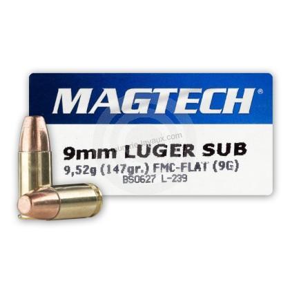 MAGTECH cal.9 mm PARA FMJ SUBSONIC