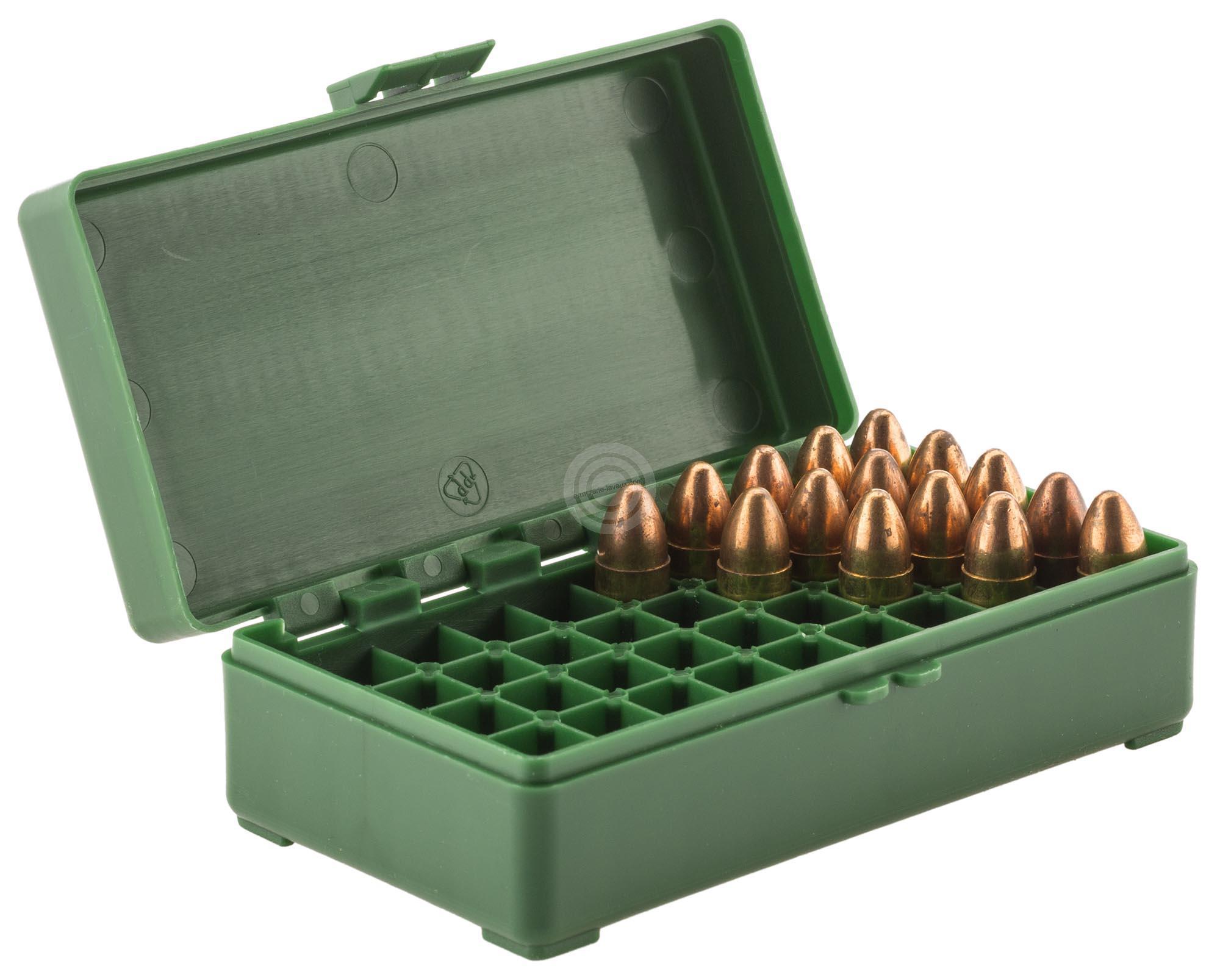 Boite à munitions MEGALINE cal.9x19 /50