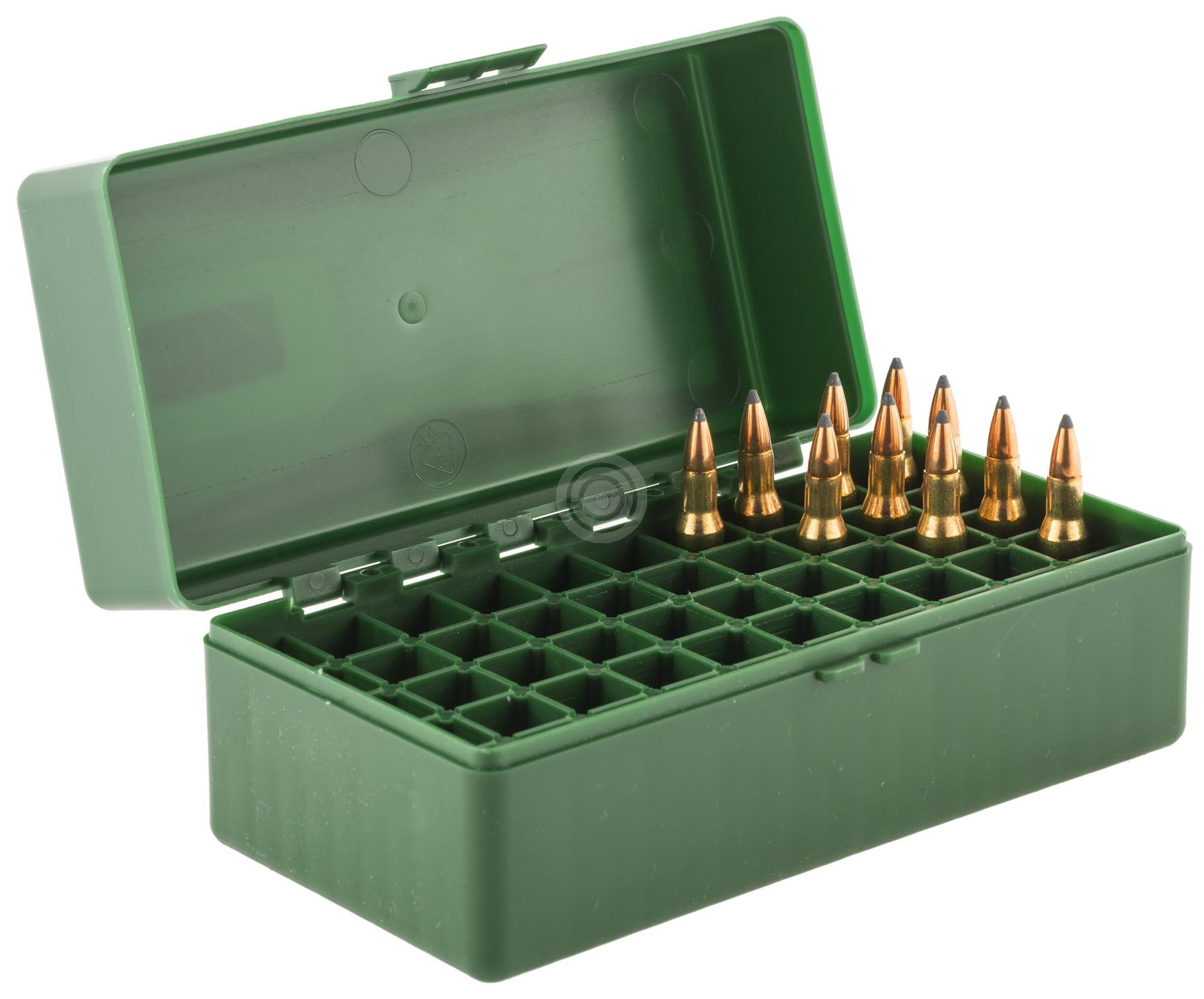 Boite à munitions MEGALINE cal.222/223 Rem /50
