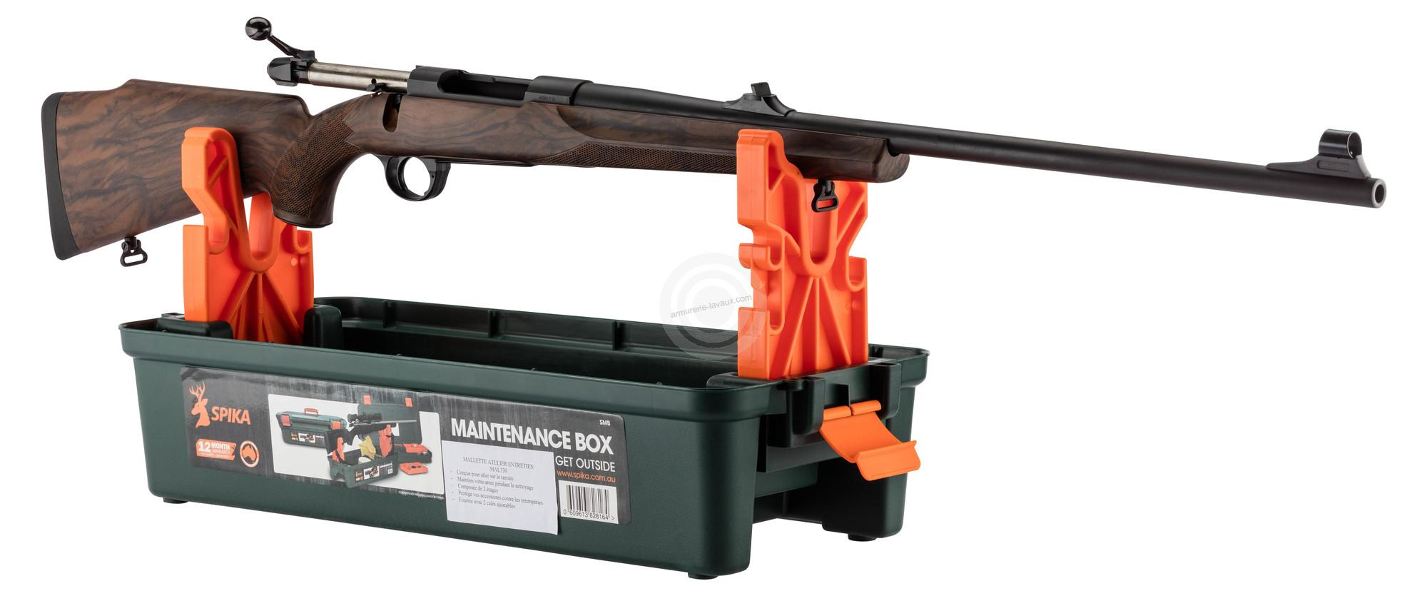 Chevalet de tir SPIKA et mallette entretien