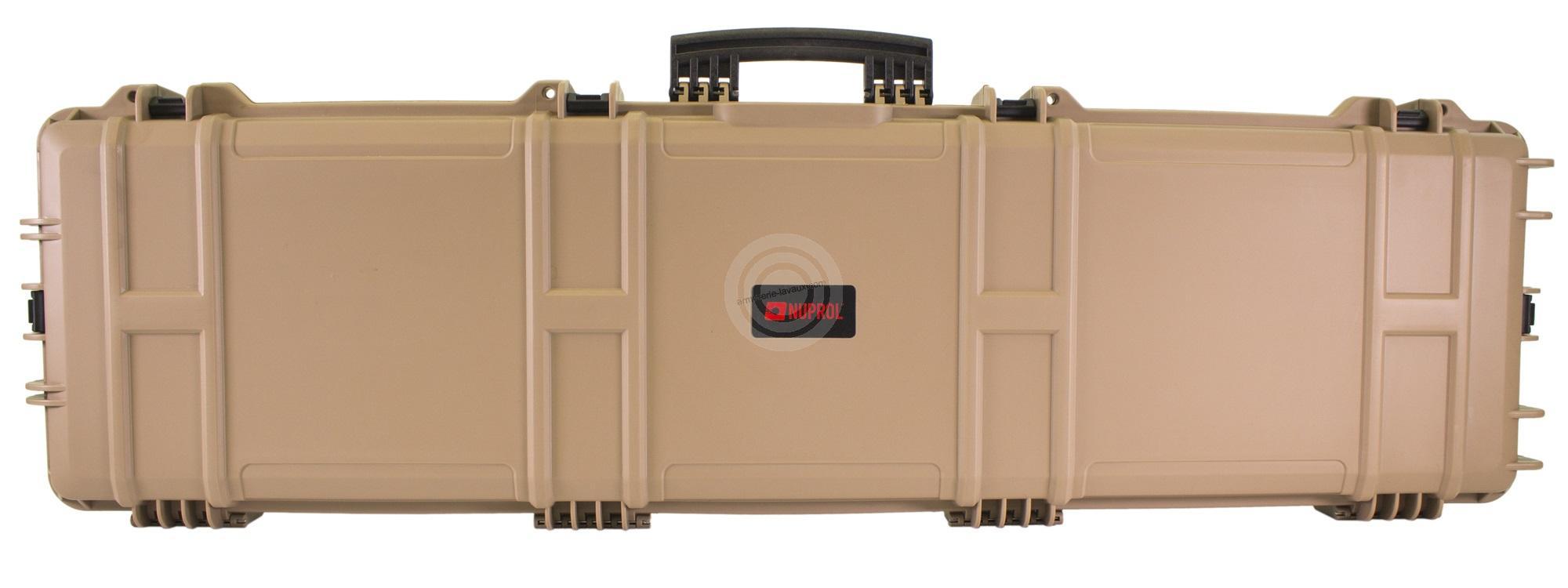 Mallette valise XL Waterprof TAN NUPROL 137x39x15cm
