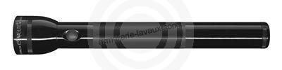 Maglite ML300 2D LED Noire