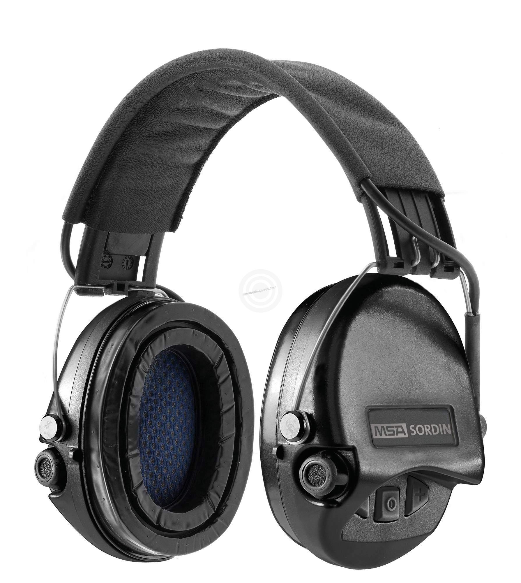 Casque électronique MSA Supreme Pro NOIR