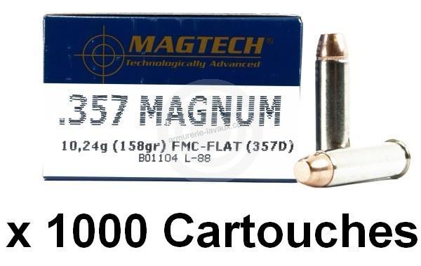 MAGTECH cal.357 Magnum FMJ /1000