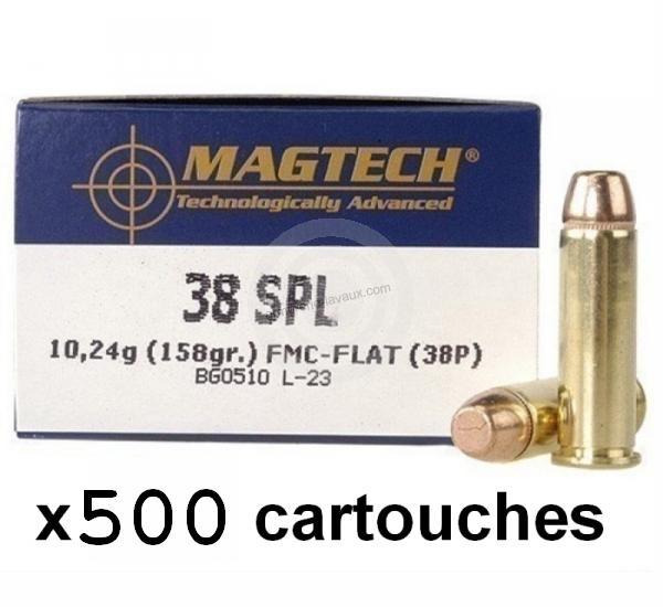 MAGTECH cal.38 Spécial FMJ /500 cartouches