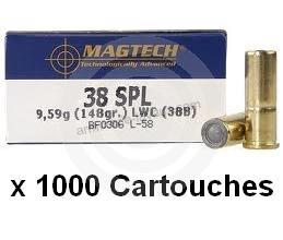 MAGTECH cal.38 Spécial WAD CUTTER /1000