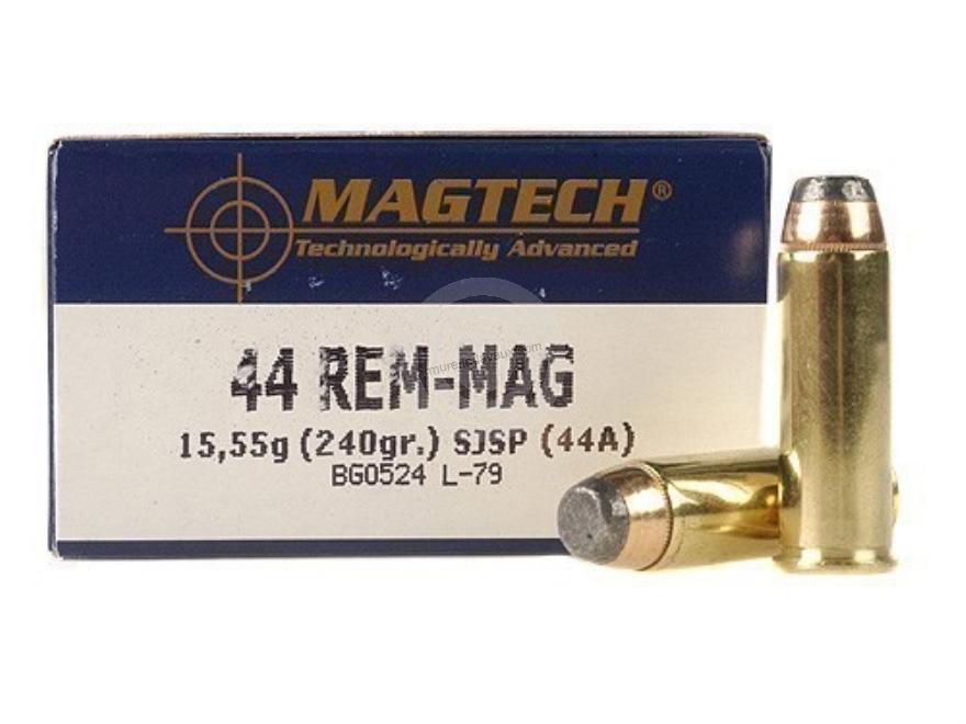 MAGTECH cal.44 Rem MAGNUM SJSP Flat