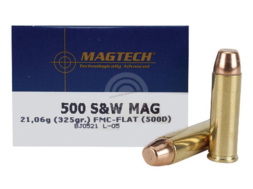 MAGTECH cal.500 SW Magnum FMJ FLAT
