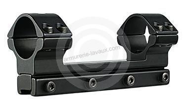 Montage monobloc DAMPA anti-recul Rail 11mm - diam 25,4