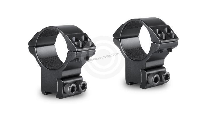 Montage HAWKE Haut diamètre 30 mm - Rail de 11 mm (BH20mm)