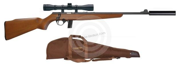 Carabine 22LR MOSSBERG Plinkster 802 Bantam bois ''Pack''