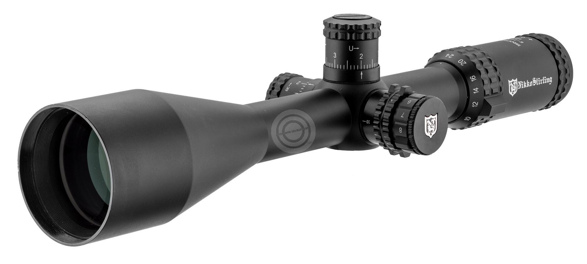 lunette de tir nikko stirling target master 6 24x56 mildot carabines de tir sur armurerie lavaux. Black Bedroom Furniture Sets. Home Design Ideas