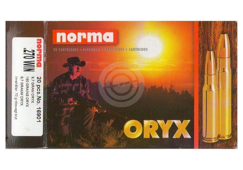 NORMA 270 Win ORYX 9,7g