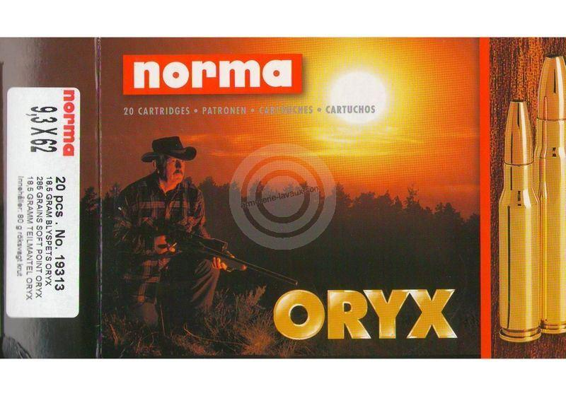 NORMA 9,3x62 ORYX 18,5g