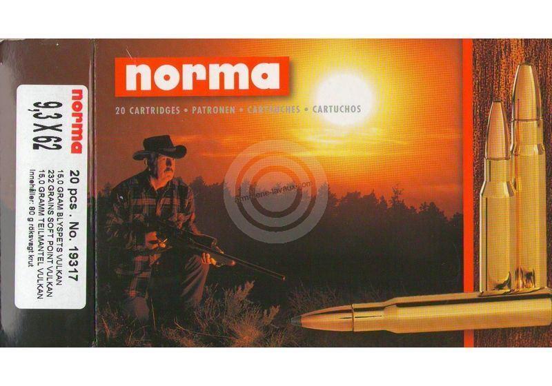 NORMA 9,3x62 Vulkan 15g