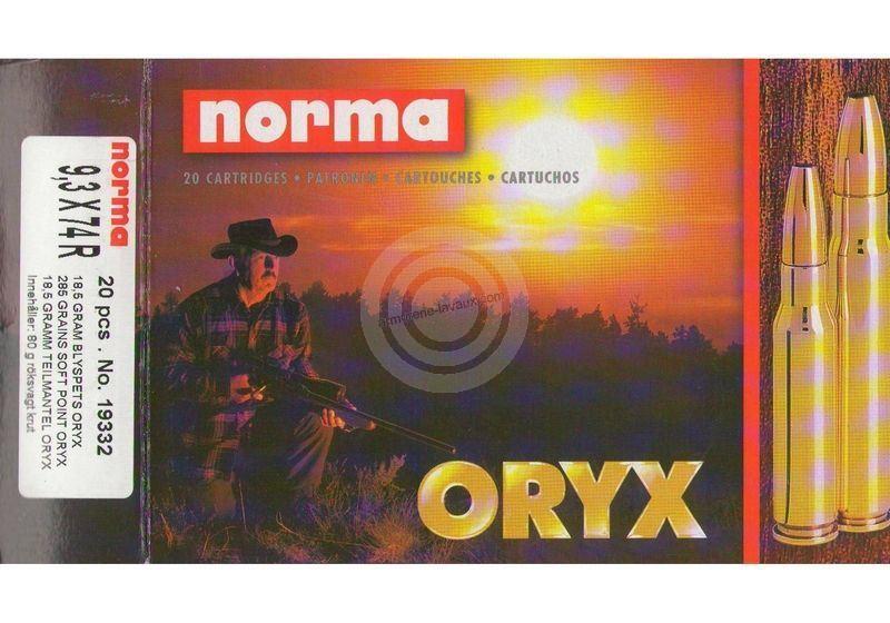 NORMA 9,3x74R Oryx 18.5g