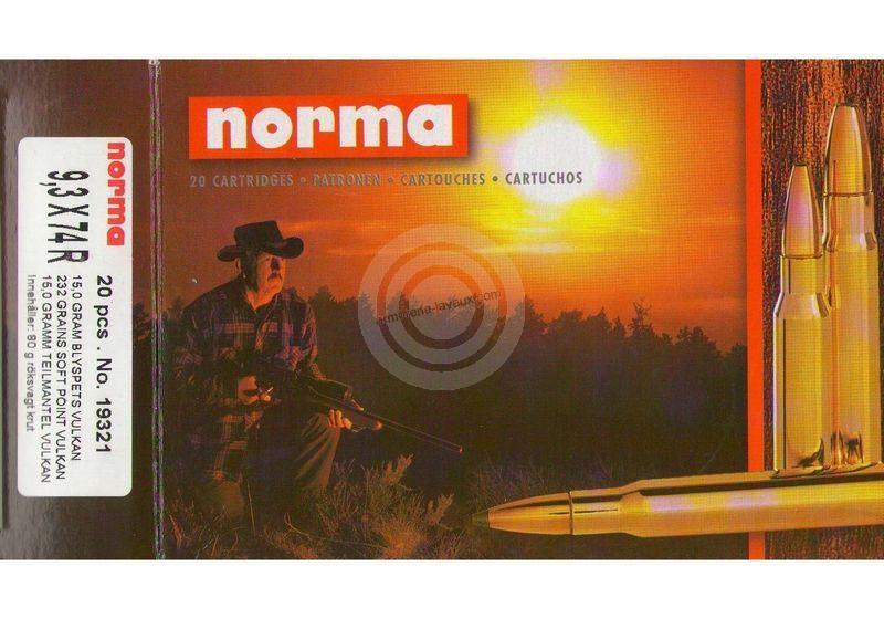 NORMA 9,3x74R Vulkan 15g