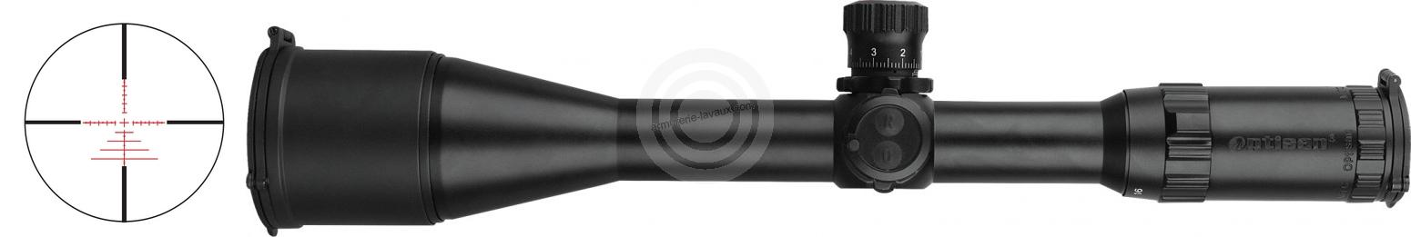 Lunette OPTISAN TAIPAN 4-16x50 Tactical Mildot