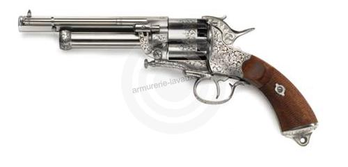 Revolver à Poudre Noire Pietta LE MAT Army super luxe Cal.44