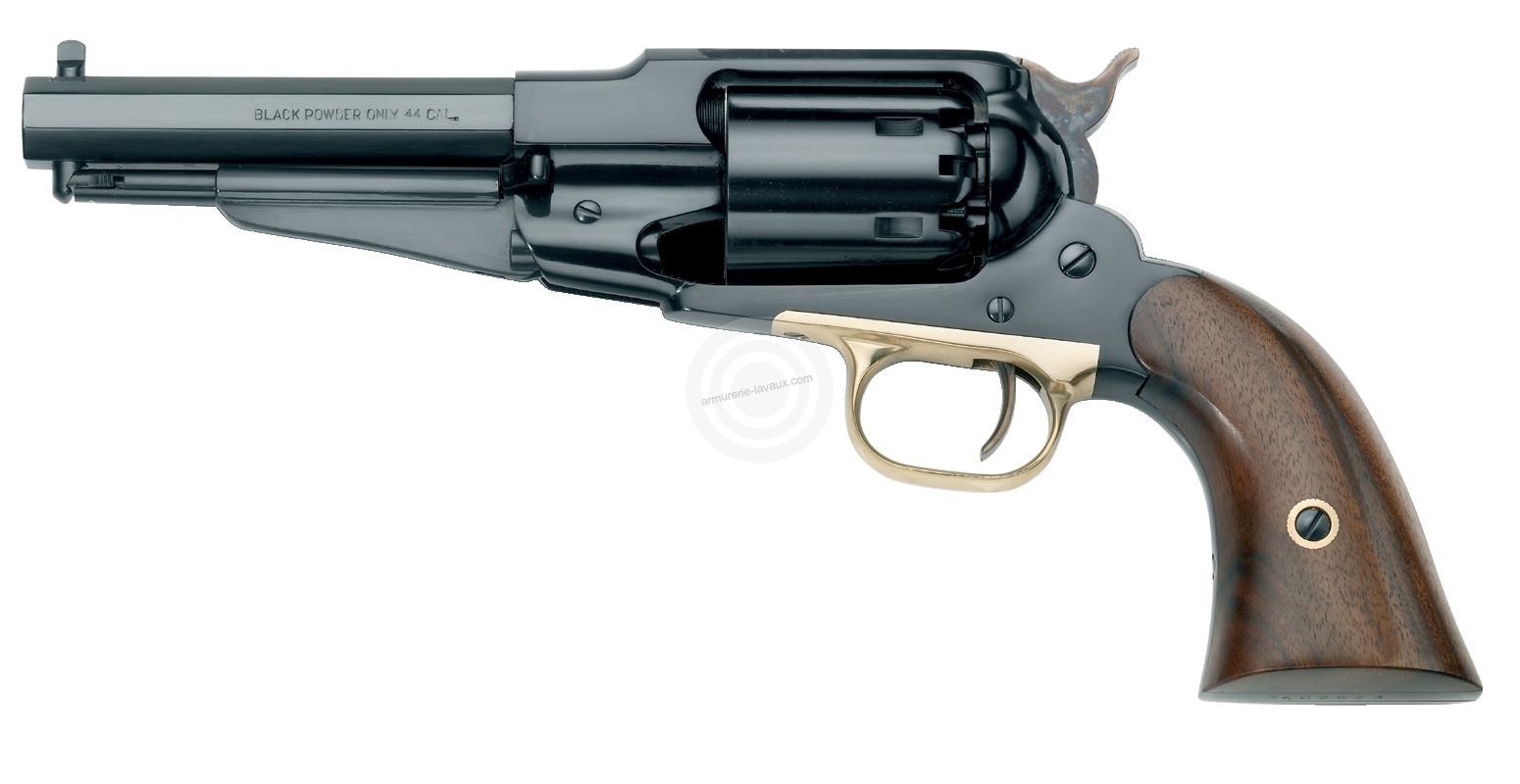 Revolver à Poudre Noire Pietta REMINGTON 1858 Sheriff Acier cal.44