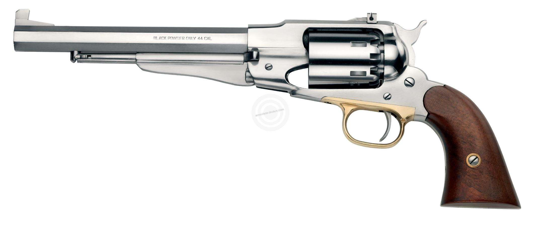 Revolver à Poudre Noire Pietta REMINGTON 1858 Target Inox cal.44