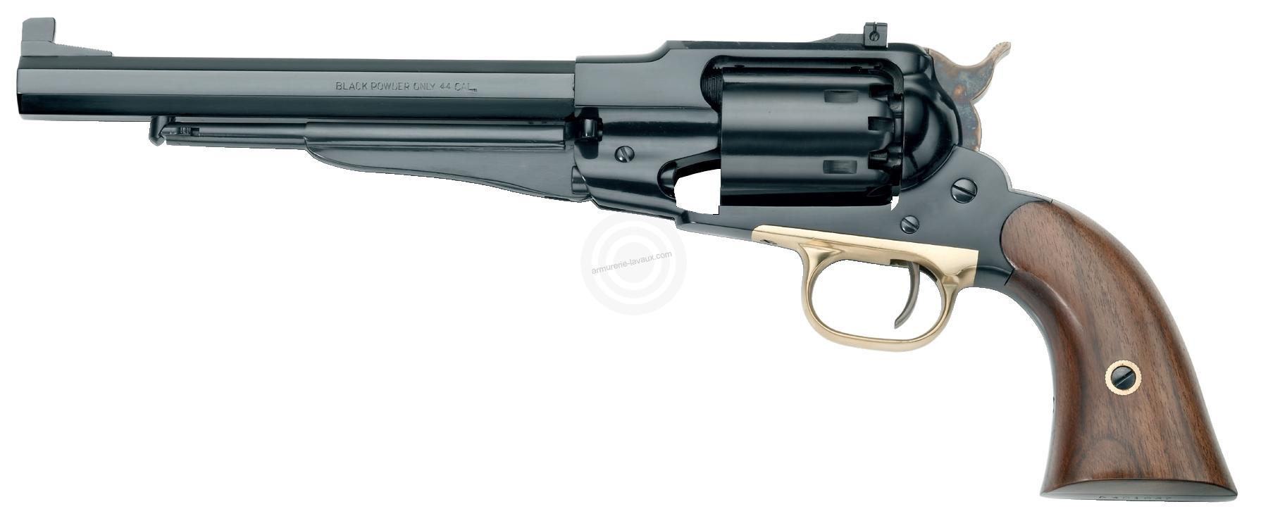 Revolver à Poudre Noire Pietta REMINGTON 1858 Target Bronzé cal.44