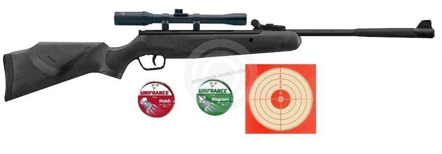 Carabine STOEGER X5 COMBO Synthétique ''lunette LYNX 4x20'' Pack loisir