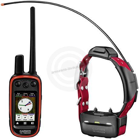 ''Pack GPS'' GARMIN Collier de r�p�rage APLHA 100 & TT15