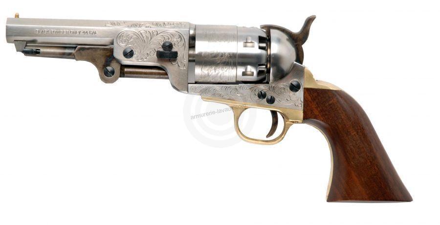 Revolver à Poudre Noire Pietta COLT Navy Yank Gravé cal.36