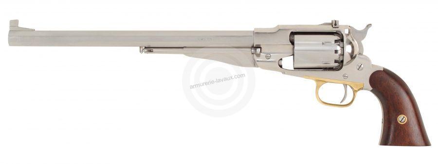 Revolver à Poudre Noire Pietta REMINGTON 1858 Buffalo Nickelé Cal.44