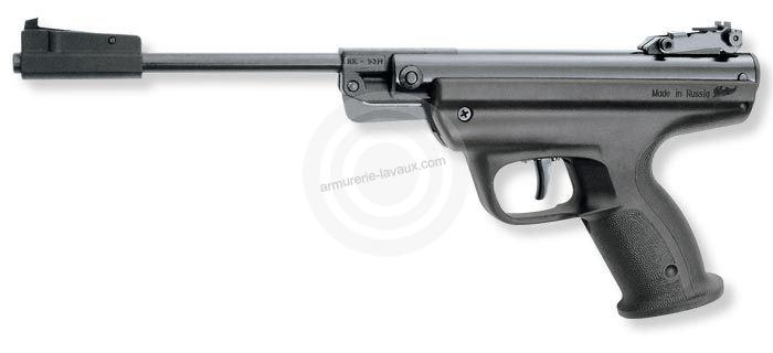 Pistolet à plombs BAIKAL IZH MP-53M