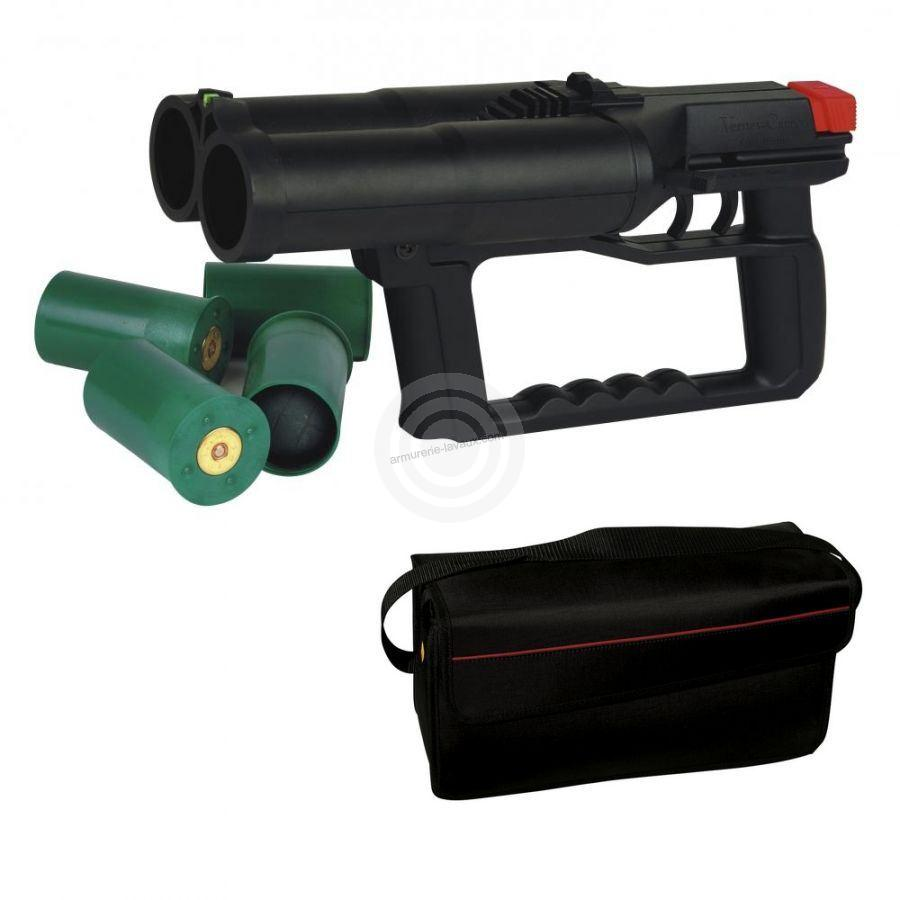 Pistolet Flash-Ball VERNEY-CARRON F101 avec sac de transport et 8 cartouches