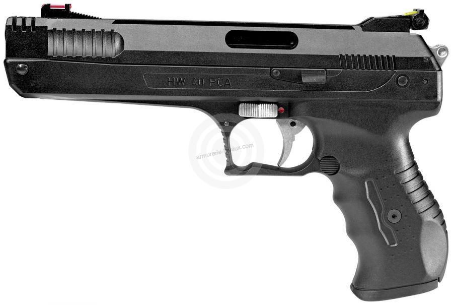 Pistolet à plombs WEIHRAUCH HW 40 PCA