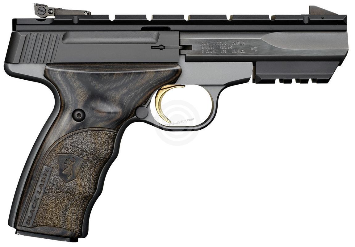Pistolet BROWNING Buck Mark BLACK LABEL cal.22Lr