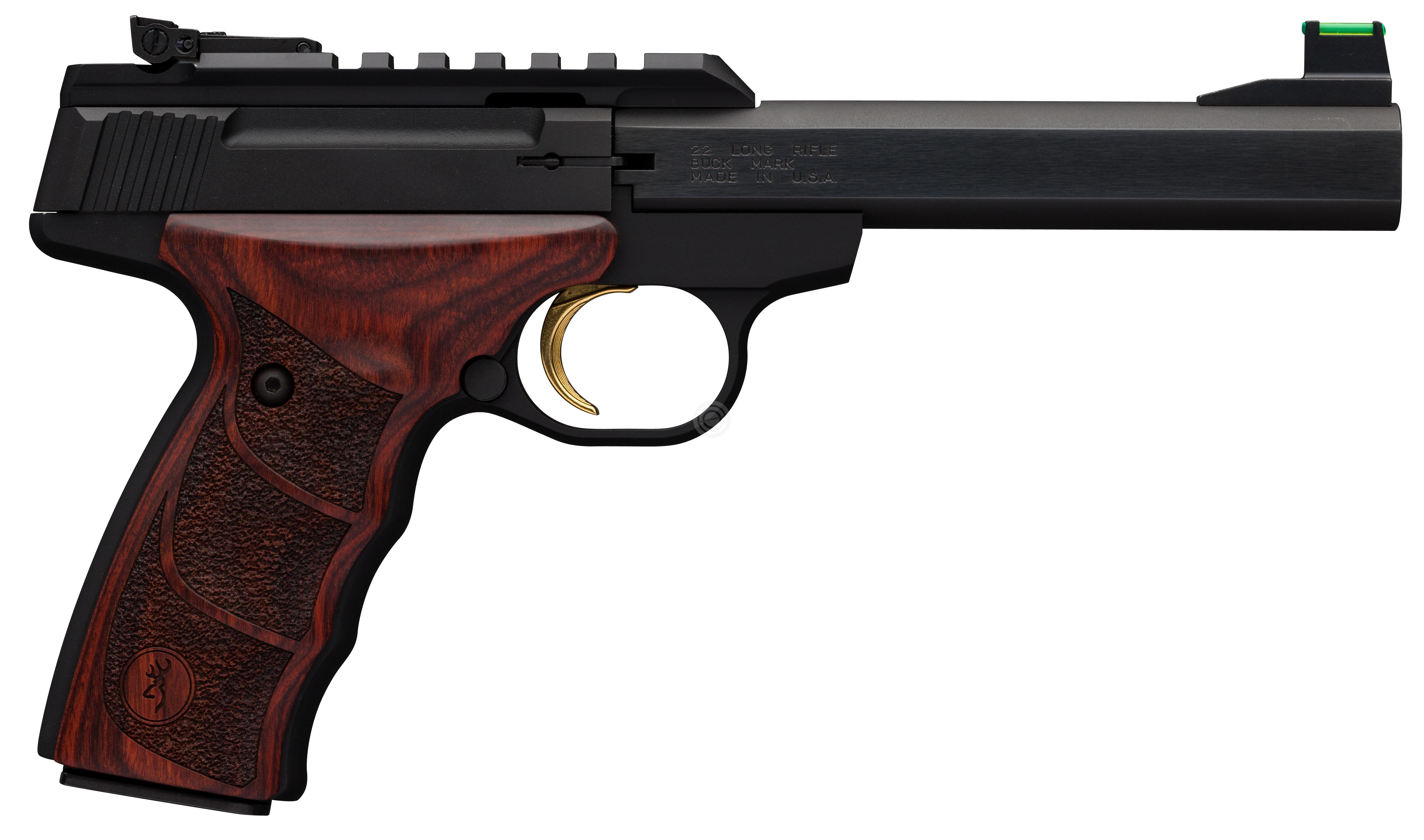 Pistolet BROWNING Buck Mark PLUS Rosewood UDX calibre 22Lr