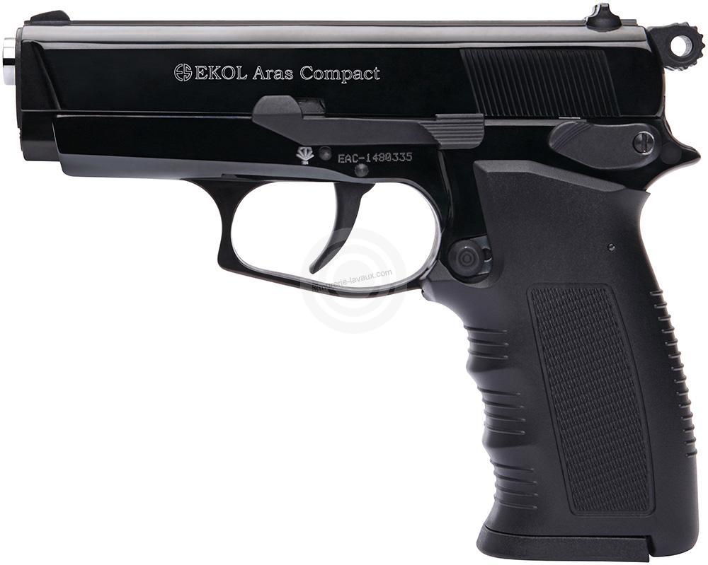 Pistolet d'alarme EKOL Aras Compact mod.85 Bronzé Cal.9mm PA